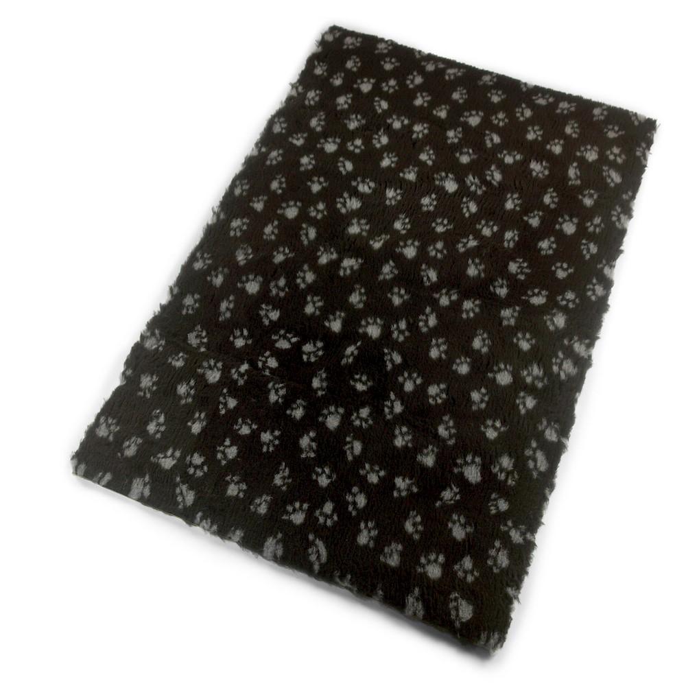 Active Non-Slip Vet Bedding Black Paws
