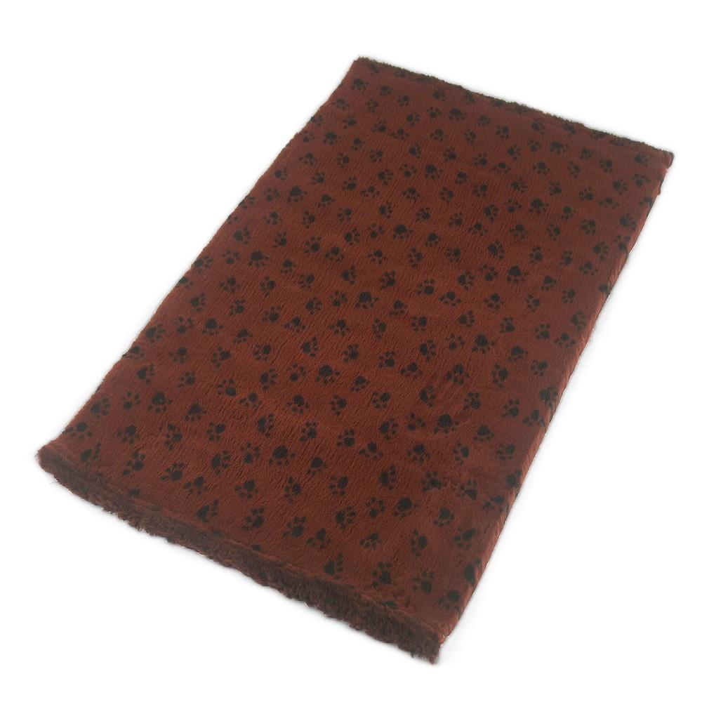 Active Non-Slip Vet Bedding Brown Paws