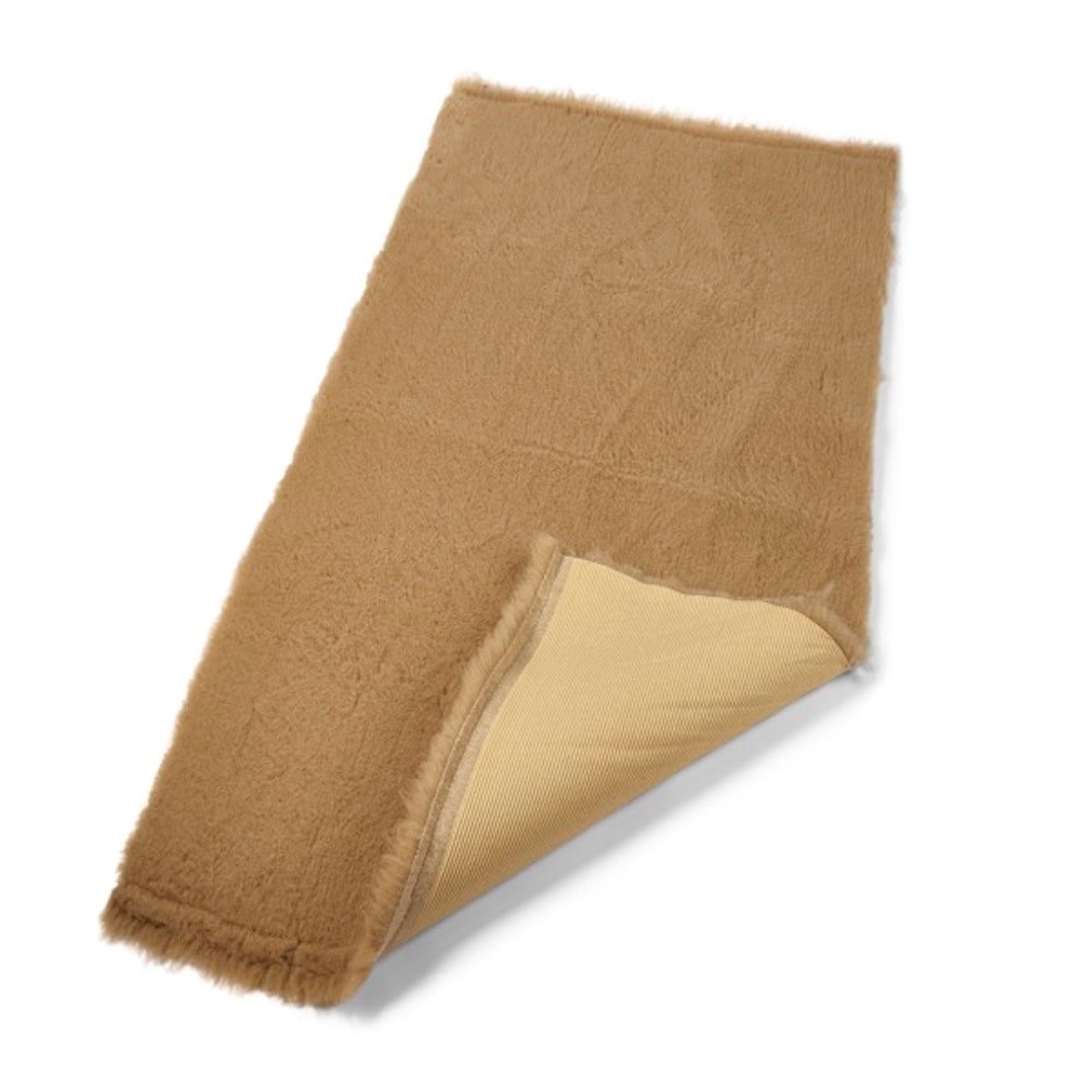 Active Non-Slip Vet Bedding Caramel Plain