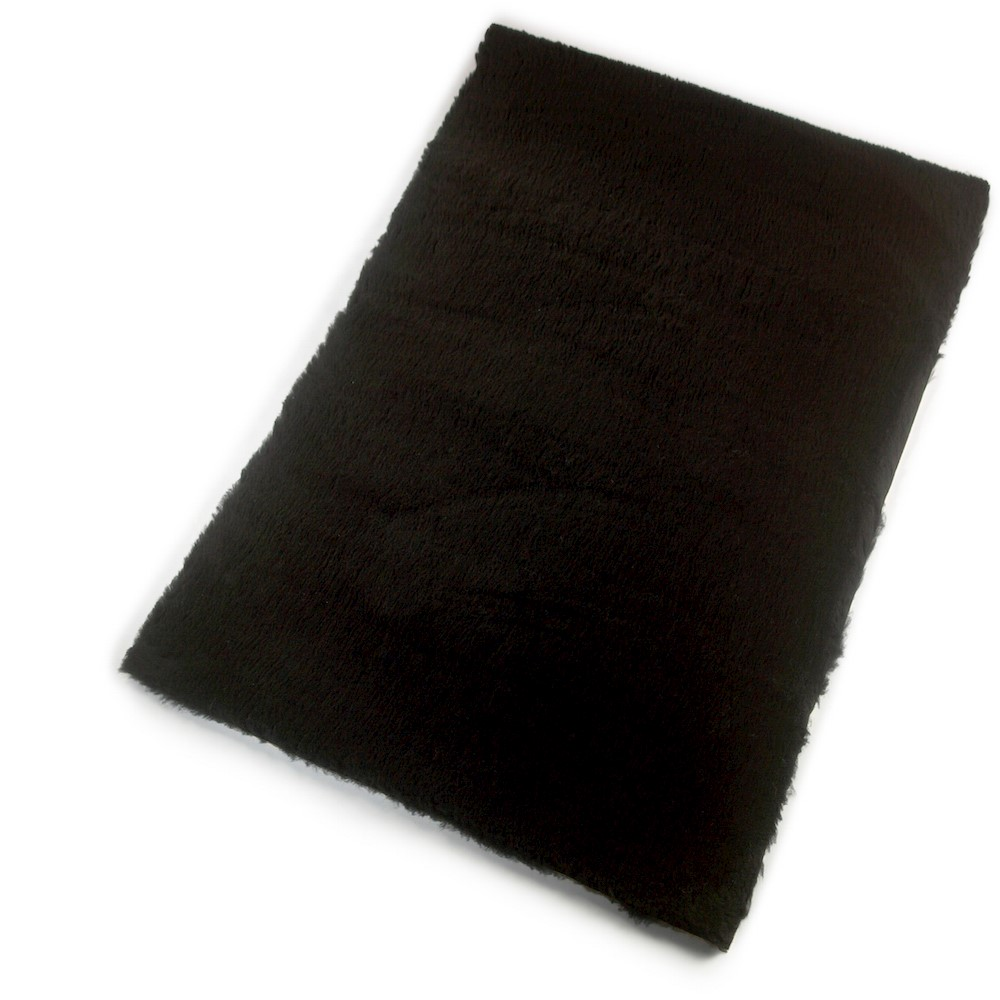 Active Non-Slip Vet Bedding Black Plain