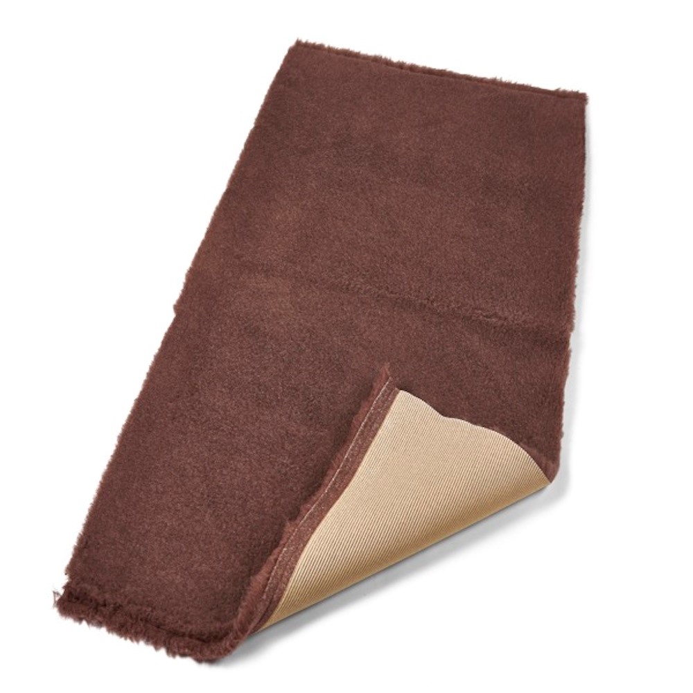 Active Non-Slip Vet Bedding Brown Plain