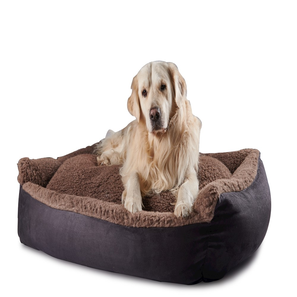 Senior Gold 7+ Pet Bed Cosy Brown