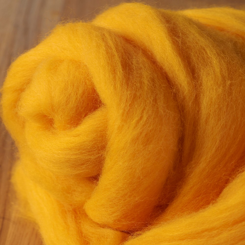 64's Merino wool for felting - Sunset