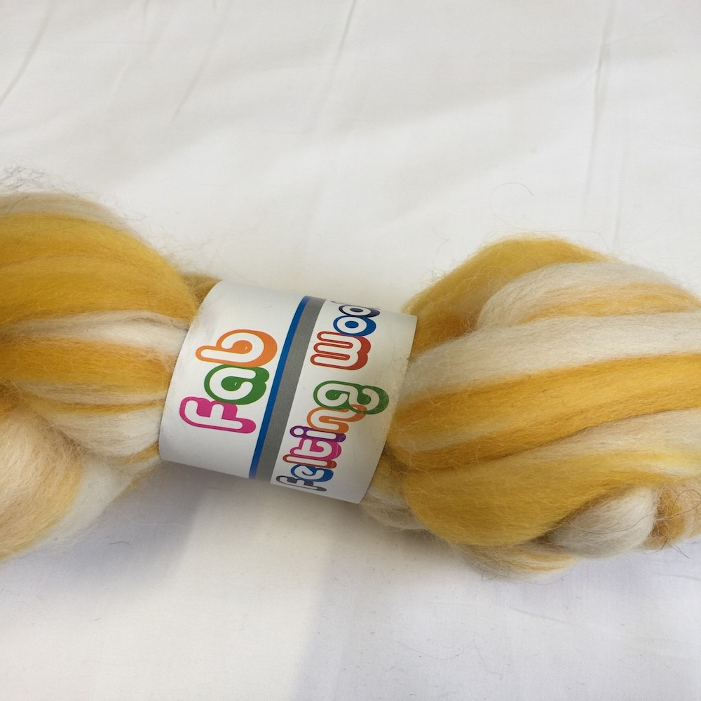 Blended Merino 64's Banana Cream
