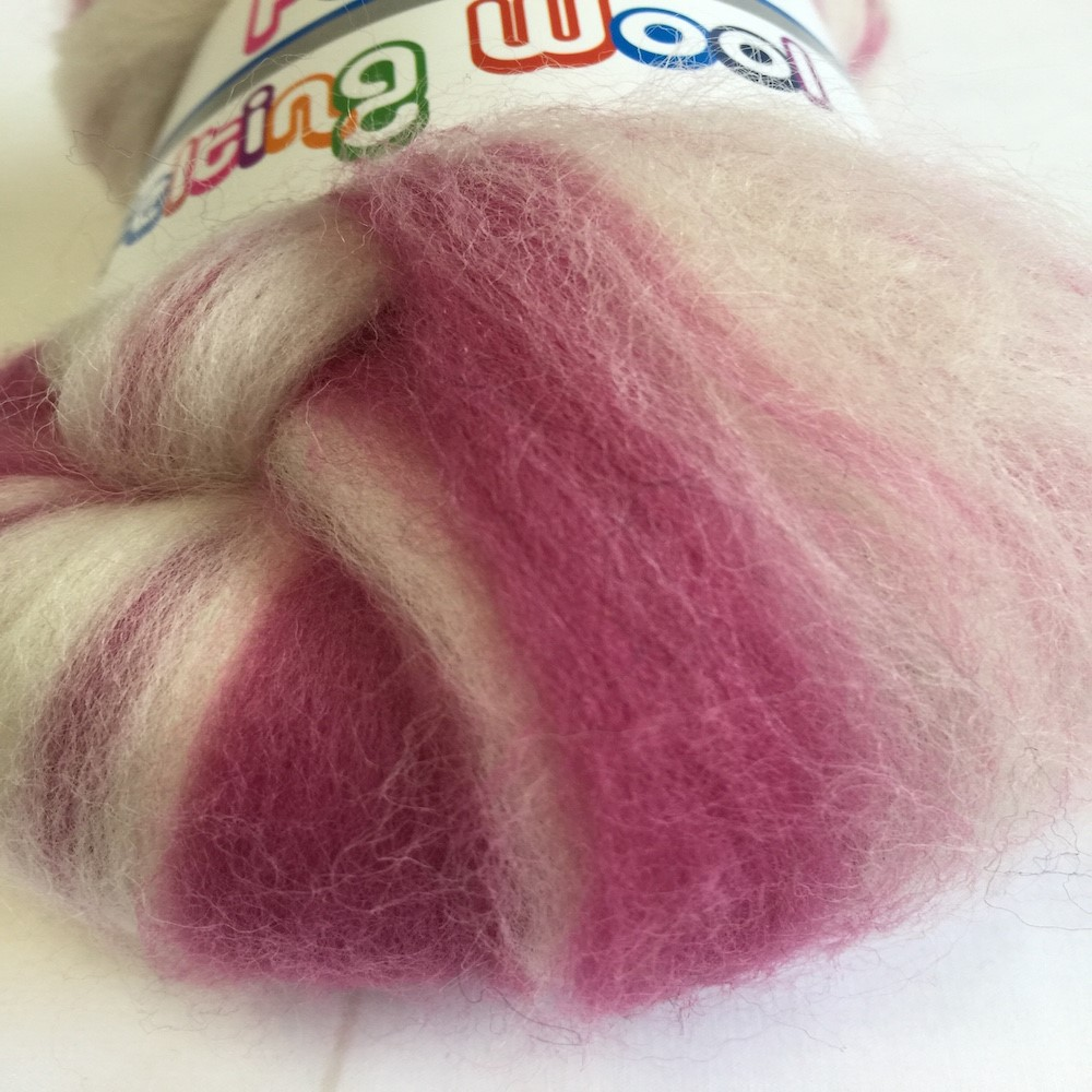 Blended Merino 64's Candy Floss Pink