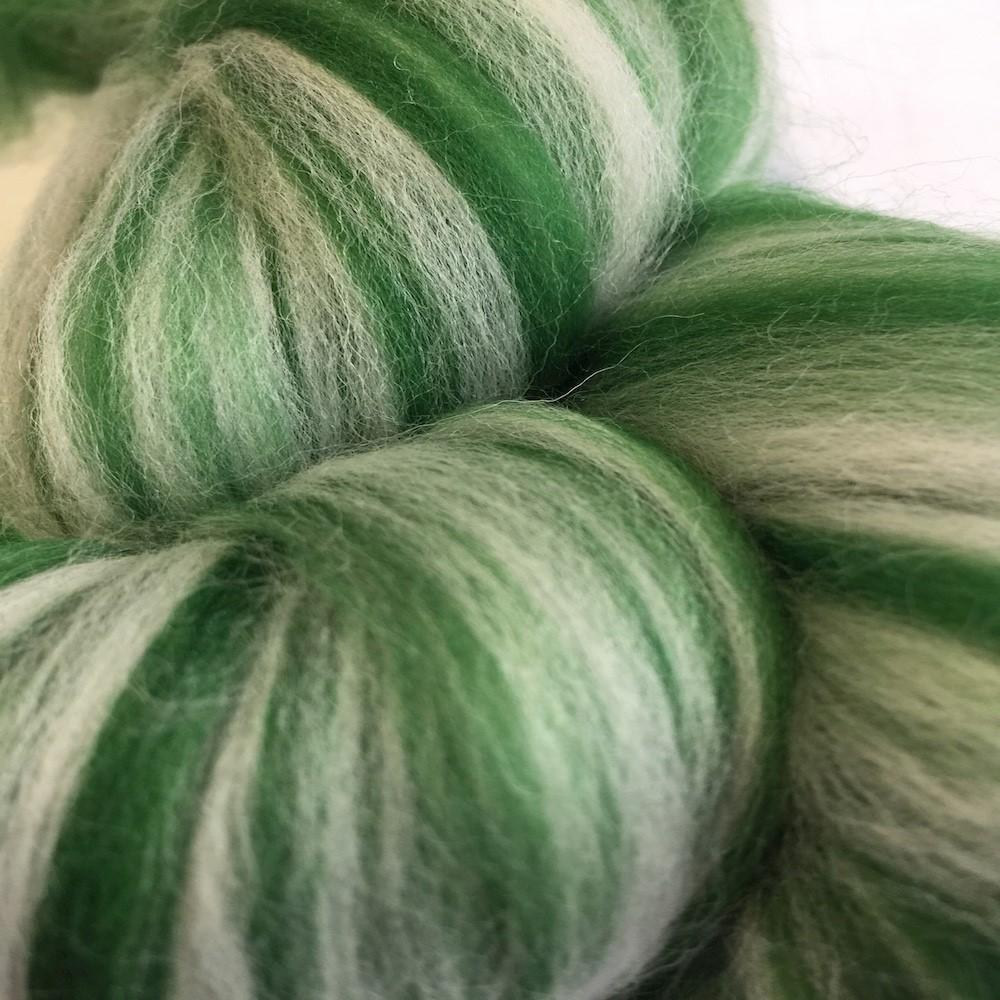 Blended Merino 64's Creme Verde