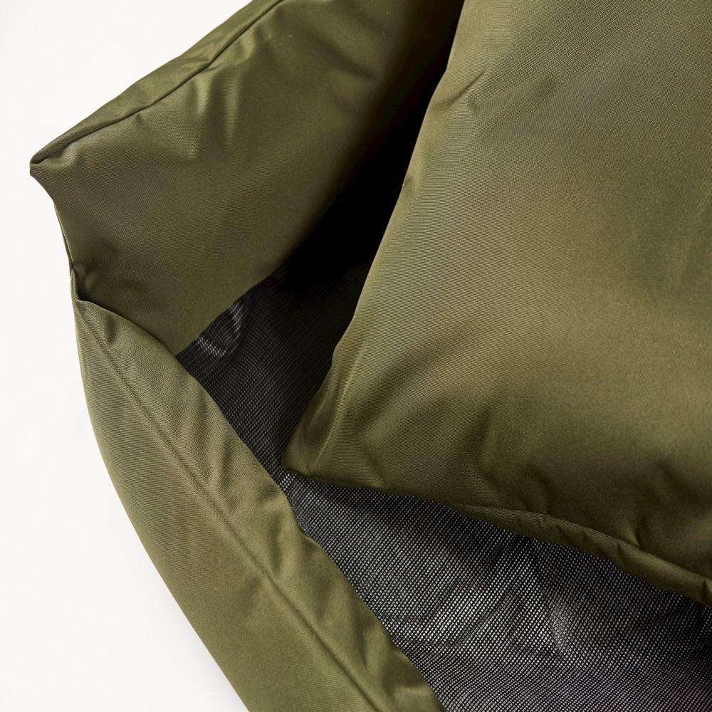 Trojan Cosy Waterproof Dog Bed Green