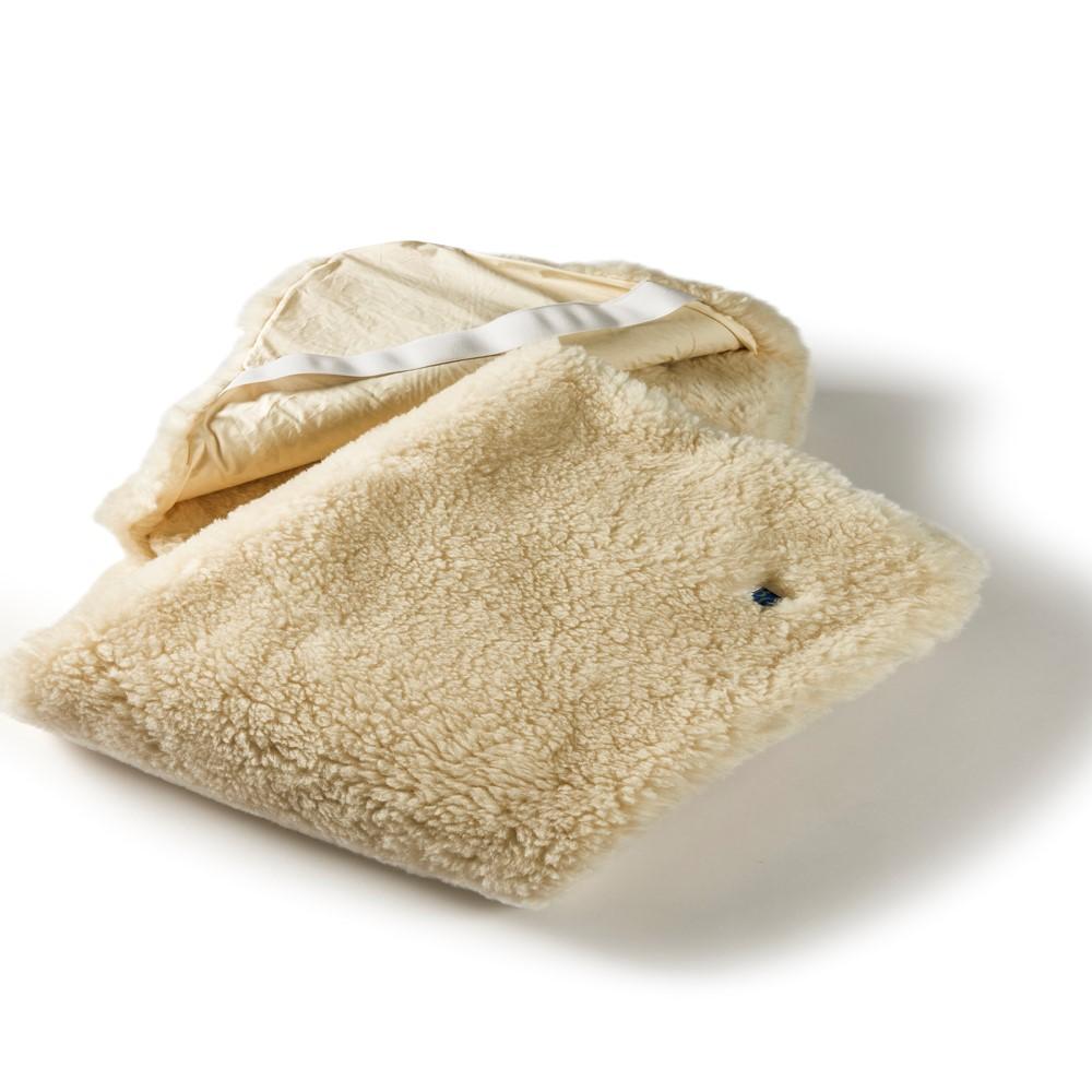 Luxurious Natural Merino Wool Mattress Bed Topper Reversible