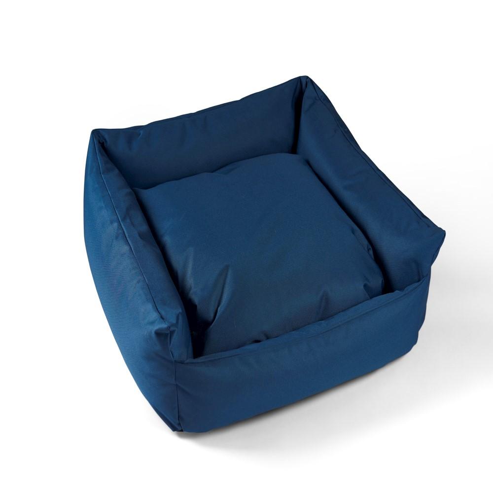 Trojan Cosy Waterproof Dog Bed - Blue