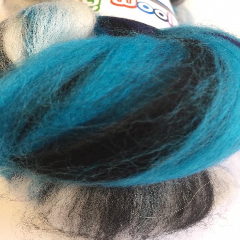Blended Merino 64's Bluebird