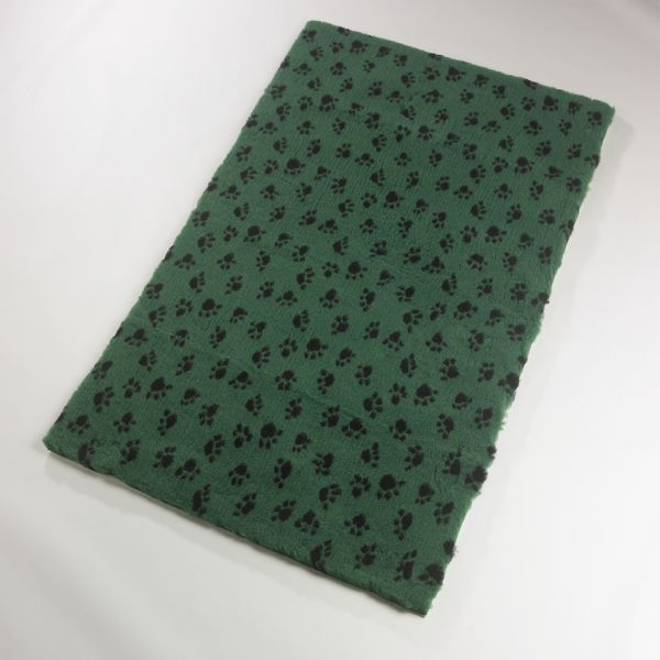 Active Non-Slip Vet Bedding Green Paws