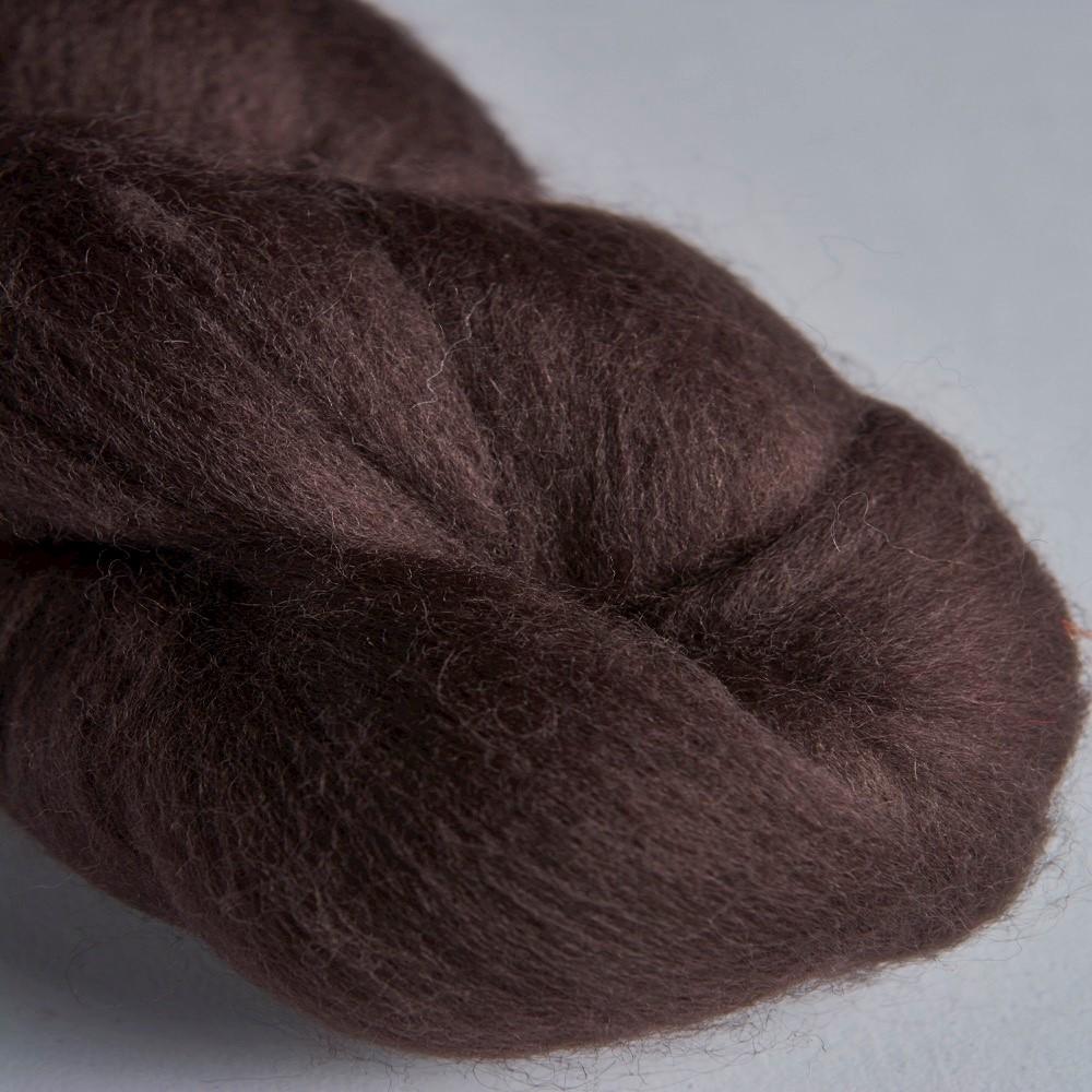 64's Merino wool for felting - Mocha