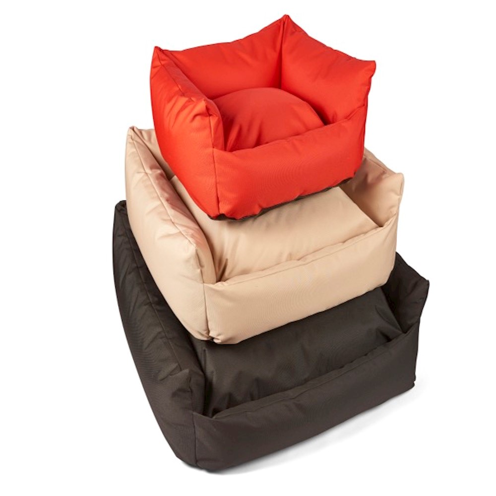 Trojan Cosy Waterproof Dog Bed - Sand