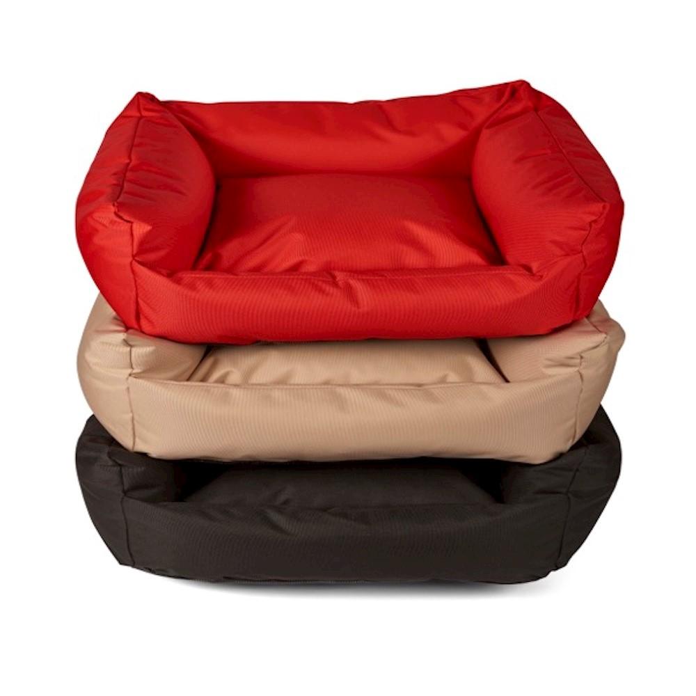 Trojan Cosy Waterproof Dog Bed - Black