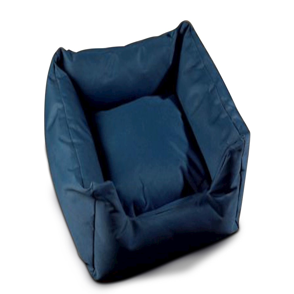 Trojan Cosy Waterproof Dog Bed - Blue