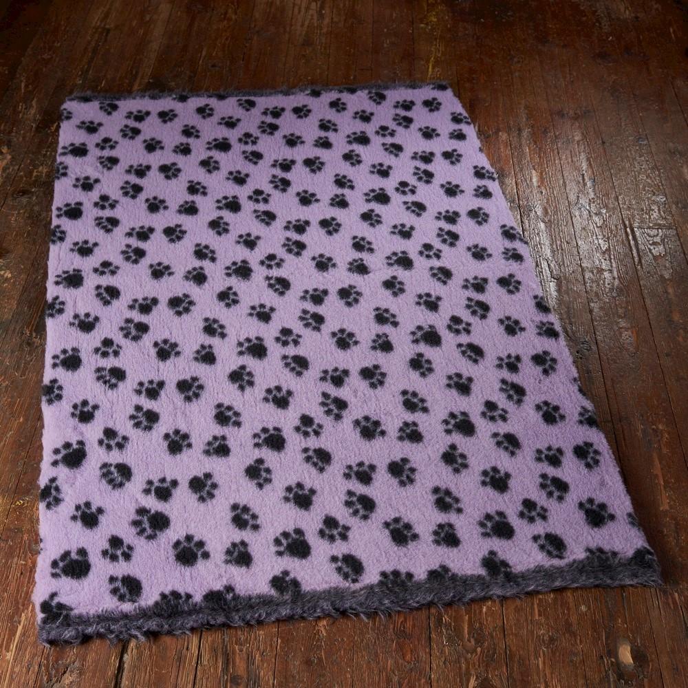 Active Non-Slip Vet Bedding Lilac Paws