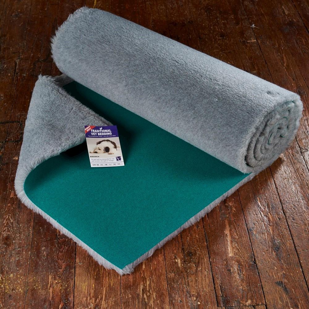 Traditional Vet Bedding Grey