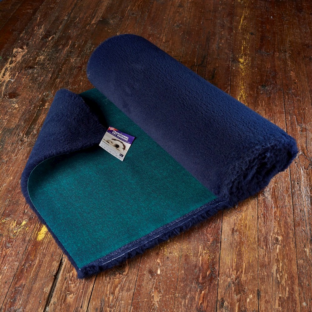 Traditional Vet Bedding Navy Blue