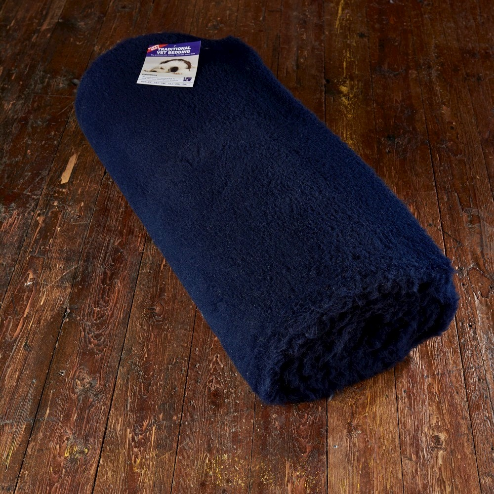 Traditional Vet Bedding Navy Blue