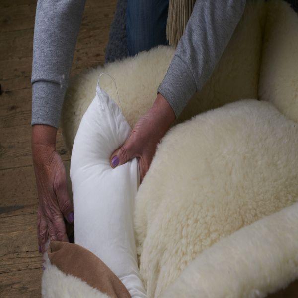 Merino wool Dog bed - Cosy