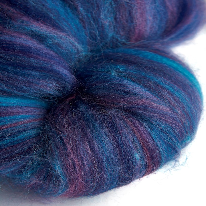 Blended Merino wool 64s Northern Lights