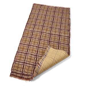 Active Non-Slip Vet Bedding Autumn Plaid