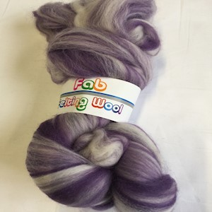 Blended Merino 64's Purple Dreams