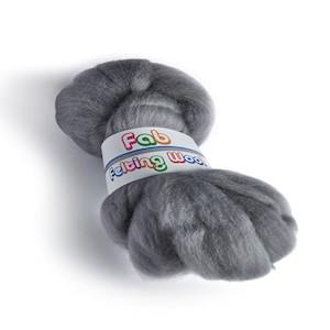 Merino wool 64's Granite