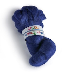 64's Merino wool for felting - Tanzanite