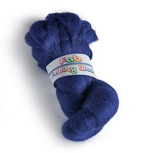 64's Merino wool for felting - Tanzanite