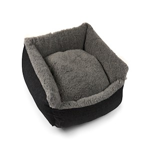Senior Gold 7+ Pet Bed Cosy Grey