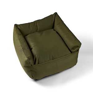 Trojan Cosy Waterproof Dog Bed Green