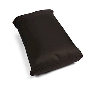 Trojan Mattress Waterproof Dog Bed - Black