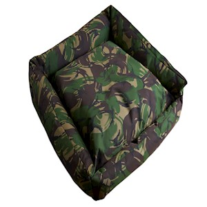 Trojan Cosy Waterproof Dog Bed - Camouflage