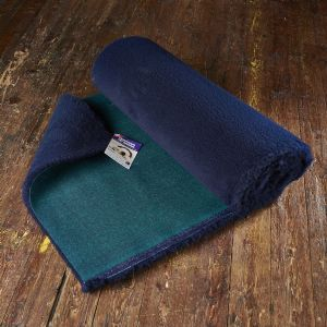 Traditional Bed   Navy Blue Vet Bedding