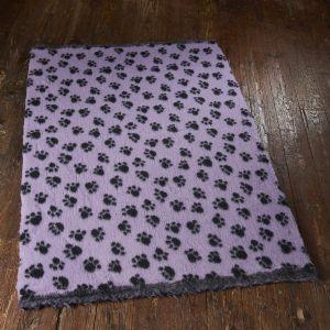 Active Non Slip Vet Bedding Lilac Paws