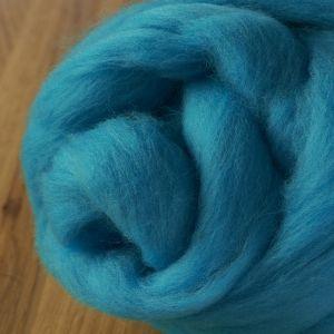 64's Merino wool for felting   Turquoise