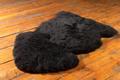 Black Sheep Skin Rug