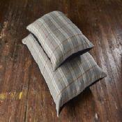 Tweed Wool Matress Dog Bed - Light